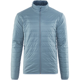 Icebreaker Hyperia Lite Jacket Men Granite Blue/Prussian Blue